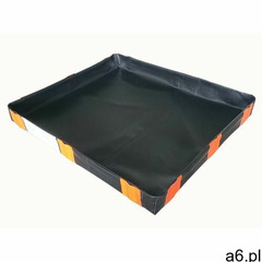 Exflo Wanna wychwytowa pvc pod 1 ibc (185 cm x 185 cm) czarny powyżej 401 l. bez kratownicy 1 pojemn - ogłoszenia A6.pl