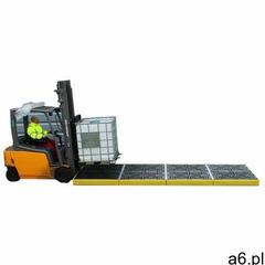 Podłoga wychwytowa pod 4 ibc (16 beczek) - platforma robocza z kratownicą 1200l żółty powyżej 401 l. - ogłoszenia A6.pl