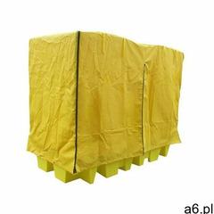 Wanna wychwytowa pod 2 kontenery ibc ze stelażem i pokrywą przeciwdeszczową żółty powyżej 401 l. z k - ogłoszenia A6.pl