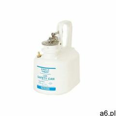 Kanister bezpieczny laboratoryjny na płyny łatwopalne, (1,9 l.), polietylenowy biały polietylen do 2 - ogłoszenia A6.pl