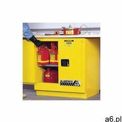 Justrite safety group Podblatowa szafa bezpieczeństwa (83 l),2-drzwiowa żółty do 100 l. 0 - 1 szt. m - ogłoszenia A6.pl