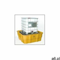 Eagle manufacturing company Wanna wychwytowa pod paletopojemnik ibc, 1520 l. żółty 170 cm x 170 cm x - ogłoszenia A6.pl