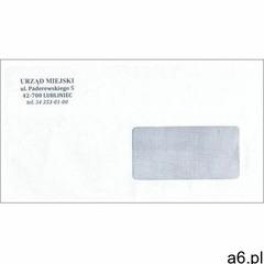 Koperta z nadrukiem klienta marki Firma krajewski - ogłoszenia A6.pl