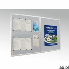 Gablota zewnętrzna dwudrzwiowa epi f 200 x 100 cm epi f 02 2-drzwiowa gablota 200x100 cm marki Epice - ogłoszenia A6.pl
