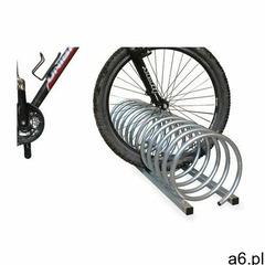 Stojak na rowery spirala c - 5 miejsc rowerowych /ocynk/ spirala c stojak 5-miejscowy marki Krosstec - ogłoszenia A6.pl