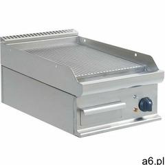 Płyta grillowa elektryczna ryflowana nastawna | 395x520mm | 5400w marki Saro - ogłoszenia A6.pl