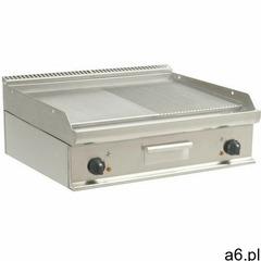 Saro Płyta grillowa elektryczna 1/2 gładka 1/2 ryflowana nastawna | 790x530mm | 10800w - ogłoszenia A6.pl
