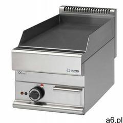 Diamond Płyta grillowa elektryczna gładka nastawna | 395x520mm | 4500w - ogłoszenia A6.pl