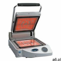 Unox Grill kontaktowy ceramiczny pojedyńczy gładki | 250x250mm | 1600w - ogłoszenia A6.pl