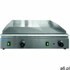 Płyta grillowa elektryczna 2/3 gładka 1/3 ryflowana nastawna | 688x410mm | 3500w marki Saro - ogłoszenia A6.pl