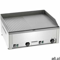 Bartscher płyta grillowa elektryczna 1/2 gładka 1/2 ryflowana nastawna   650x480mm   6000w - kod pro - ogłoszenia A6.pl