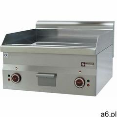 Płyta grillowa elektryczna gładka nastawna | 595x470mm | 6000W - ogłoszenia A6.pl