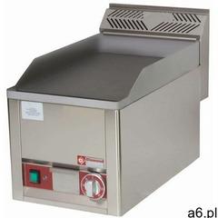 Płyta grillowa elektryczna gładka nastawna | 320x480mm | 3000w marki Diamond - ogłoszenia A6.pl