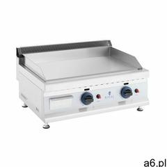 Royal catering podwójny grill gazowy - 60 x 40 cm - gładki - 2 x 3100 w - propan / butan - 0,02 bar  - ogłoszenia A6.pl