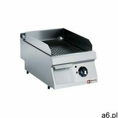 Płyta grillowa elektryczna ryflowana nastawna | 330x540mm | 4500W - ogłoszenia A6.pl