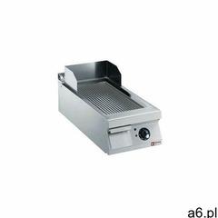 Płyta grillowa elektryczna ryflowana nastawna | 344x647mm | 7500W - ogłoszenia A6.pl