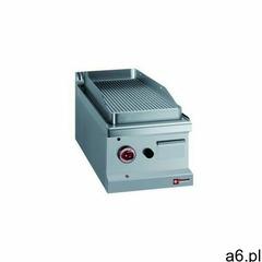 Płyta grillowa gazowa ryflowana nastawna | 350x500 mm marki Diamond - ogłoszenia A6.pl