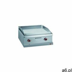 Płyta grillowa elektryczna 1/2 gładka, 1/2 ryflowana nastawna | 650x500mm | 8000 W - ogłoszenia A6.pl