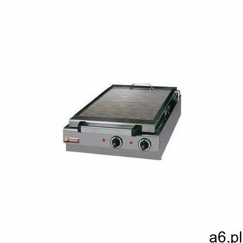 Płyta grillowa elektryczna ryflowana nastawna   410x340mm   5000W - 1