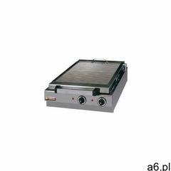Płyta grillowa elektryczna ryflowana nastawna | 410x340mm | 5000W - ogłoszenia A6.pl