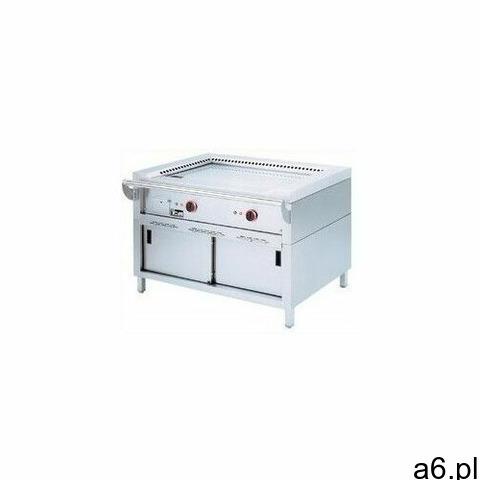 Płyta grillowa elektryczna gładka wolnostojąca | 7000W - 1