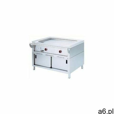 Płyta grillowa elektryczna gładka wolnostojąca | 9000W - 1