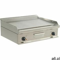 Płyta grillowa elektryczna gładka nastawna | 790x530mm | 10800w marki Saro - ogłoszenia A6.pl