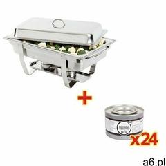 Zestaw podgrzewacz + 24 puszki pasty   9L   63,5x31,7x10,2cm - ogłoszenia A6.pl