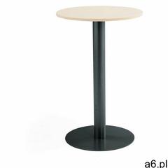 Stół barowy, Ø700x1100 mm, brzoza, antracyt - ogłoszenia A6.pl
