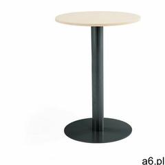 Stół barowy, Ø700x1000 mm, brzoza, antracyt - ogłoszenia A6.pl