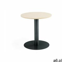Stół barowy, Ø700x720 mm, brzoza, antracyt - ogłoszenia A6.pl