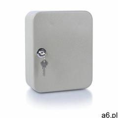 Szafka na klucze , na 20 kluczy, 200x160x80mm, szara marki Donau - ogłoszenia A6.pl