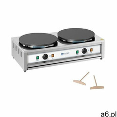 Royal Catering Naleśnikarka - 2 płyty grzewcze - 2 x 400 mm - 2 x 3000 W RC-CMD01 - 3 LATA GWARANCJI - ogłoszenia A6.pl
