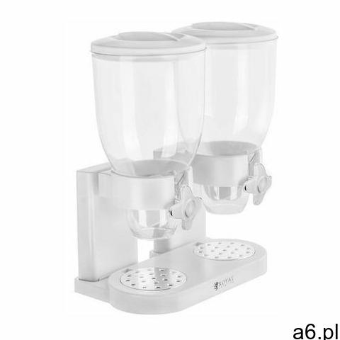 Royal Catering Dozownik do płatków - 2 x 3,5 litra RCCS-7L/2 - 3 LATA GWARANCJI - 1