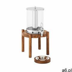 Royal Catering Dyspenser do soków - 7 l - system chłodzenia - jasna drewniana podstawa RCSD-1W2 - 3  - ogłoszenia A6.pl