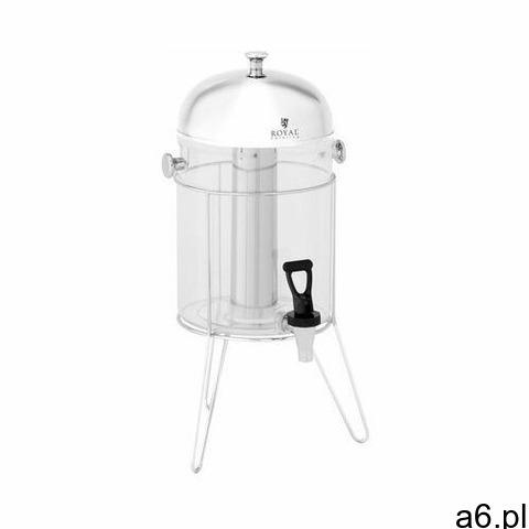 Royal catering dyspenser do soków - 8 l - system chłodzenia - rama ze stali nierdzewnej rcsd-1s1 - 3 - 1