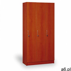 Drewniana szafa ubraniowa trzydrzwiowa, 1900x900x420 mm, kalwados marki B2b partner - ogłoszenia A6.pl