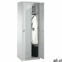 Metalowa szafa ubraniowa 2-drzwiowa szer. 81 cm, 88055F022 - ogłoszenia A6.pl