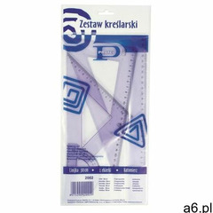 Zestaw geometryczny 30cm 2002 marki Pratel - ogłoszenia A6.pl
