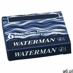 Naboje Waterman Krótkie Czarny (6szt.) - ogłoszenia A6.pl