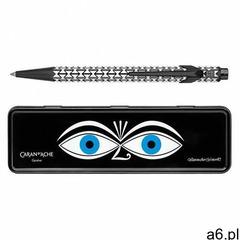 Długopis CARAN D'ACHE 849 Alexander Girard Black M w pudełku czarny (7630002338820) - ogłoszenia A6.pl