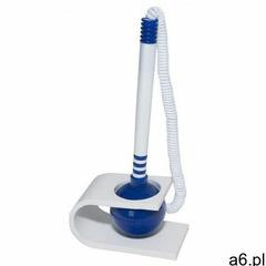 Długopis na sprężynce , stojący, smoprzylepny, niebieski marki Office products - ogłoszenia A6.pl