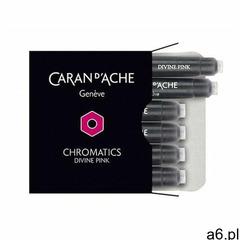 Caran d'ache Naboje chromatics divine pink, 6szt., różowe - ogłoszenia A6.pl