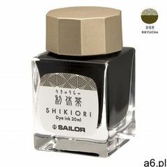 Sailor Atrament Shikiori Rikyucha Zielona Herbata 20ml (4901680184744) - ogłoszenia A6.pl