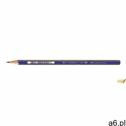 Ołówek FABER CASTELL Goldfaber kpl.6szt. + gumka, 114000 - 1