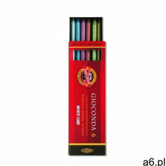 Gioconda wkłady do ołówka artystycznego 6 sztuk, 4376 - ogłoszenia A6.pl