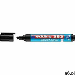 Marker do papieru Edding marker do flipchartów czarny (383) - ogłoszenia A6.pl