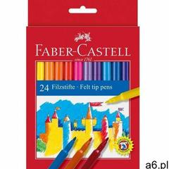 Faber-castell Flamastry 24 kolorów zamek opakowanie kartonowe (8591272000666) - ogłoszenia A6.pl