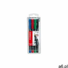 Stabilo Foliopis ohp f mix kolorów (4szt) (4006381114981) - ogłoszenia A6.pl