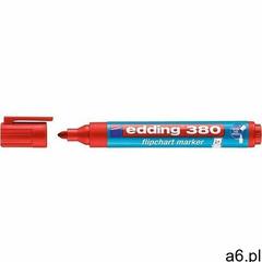 Marker 380 czerwony do flipchartów marki Edding - ogłoszenia A6.pl